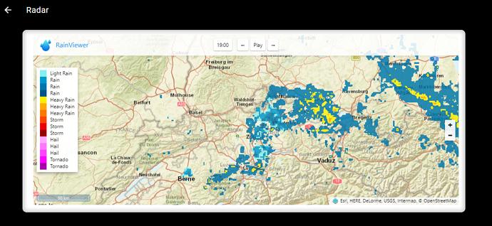 Classic UI - Weather radar - Items & Sitemaps - openHAB Community
