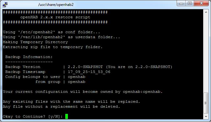 write a backup script linux