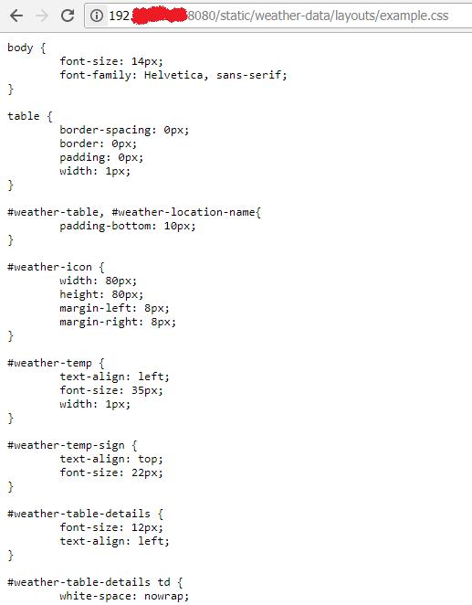 Template Example: Weather Binding - HABPanel - openHAB Community