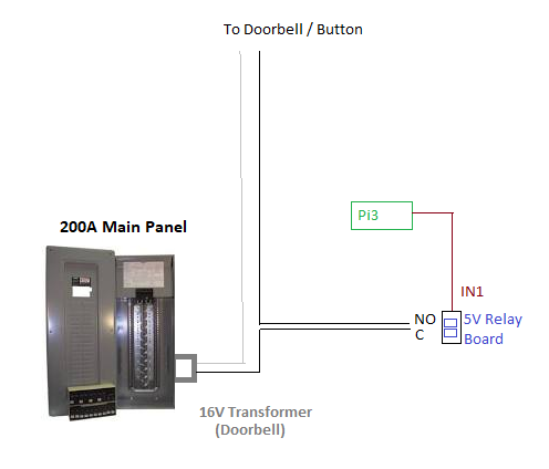Tutorial - Use a 5V Relay to Disable You Doorbell