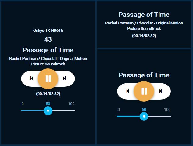 Custom Widget: Music Control - HABPanel - openHAB Community