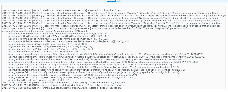 Synology DiskStation - Server - openHAB Community