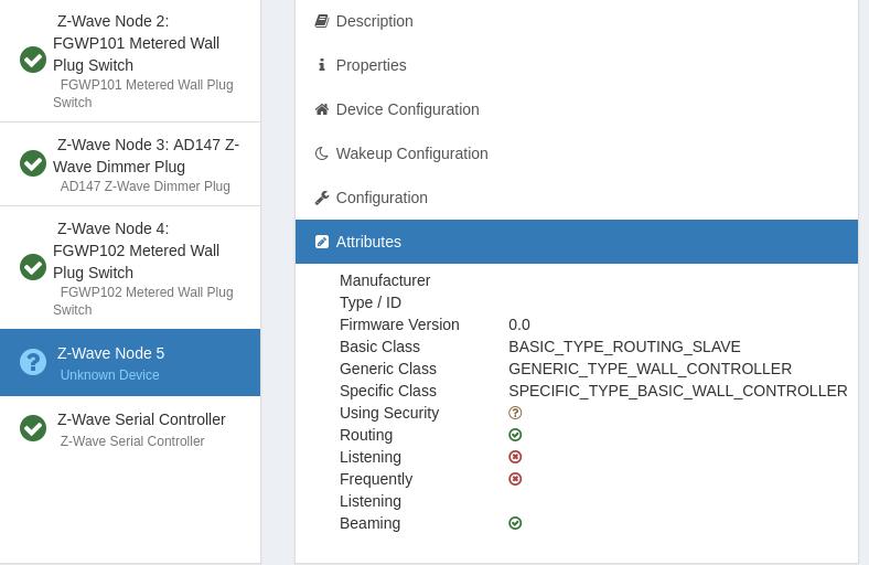 Fibar Group Keyfob : FGKF-601 (no Node.xml)
