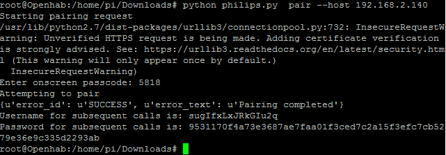 Binding to Philips 49PUS7101/12 android TV - Bindings - openHAB