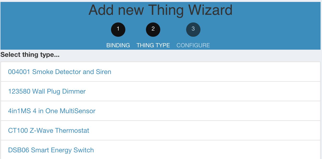 testing z wave binding on openhab 2 runtime openhab community