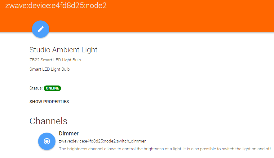 My Sitemap / Items First Attempt At Linking 2 Lights To