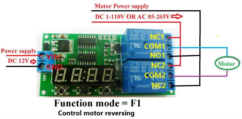 Roller blind 12V motor (2 wire) HW control options using MQTT - Home