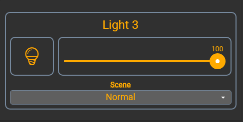 Custom Widget: Hue Color Light Controller - HABPanel