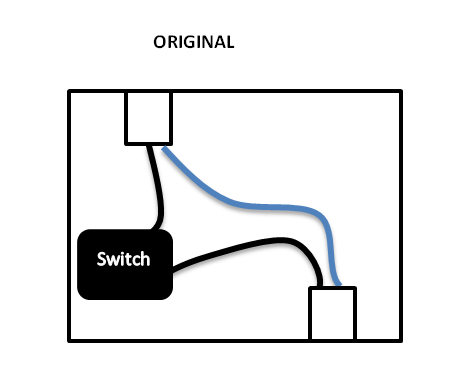 How I integrate my sonoff basic - 1 way 2 way or 3way switch