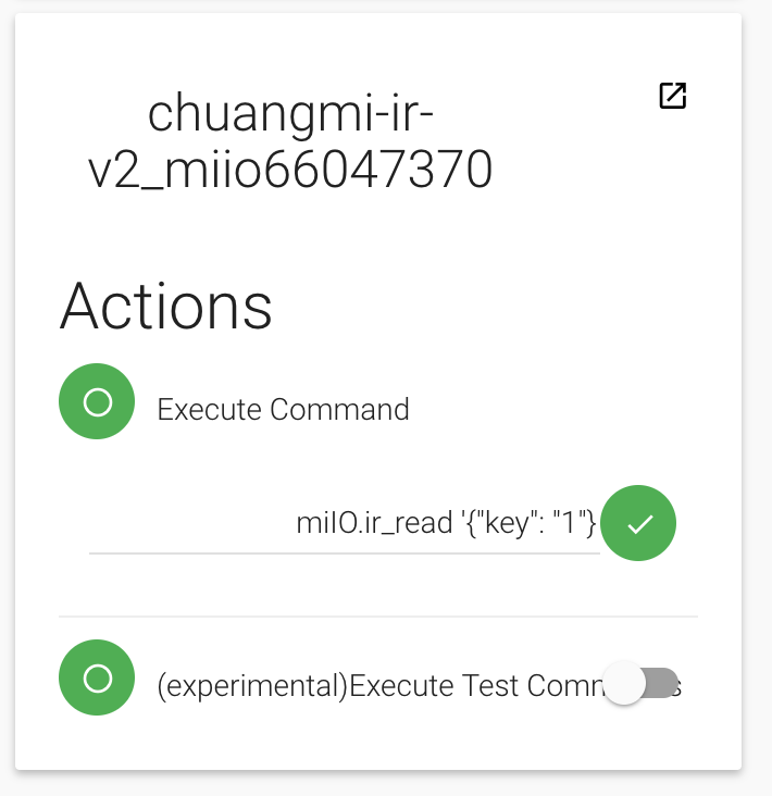 Xiaomi Mi Infrared Remote Control - Bindings - openHAB Community