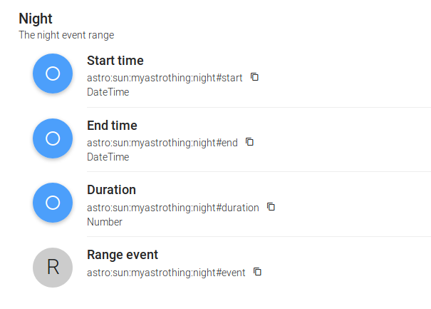 DateTime, time, and Astro binding questions - Beginners - openHAB