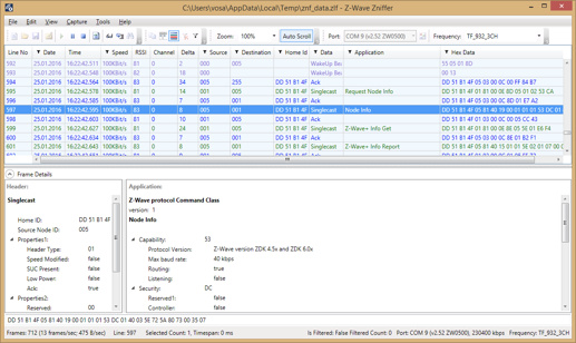 Monitor the network traffic of Z-wave/ZigBee - Beginners - openHAB
