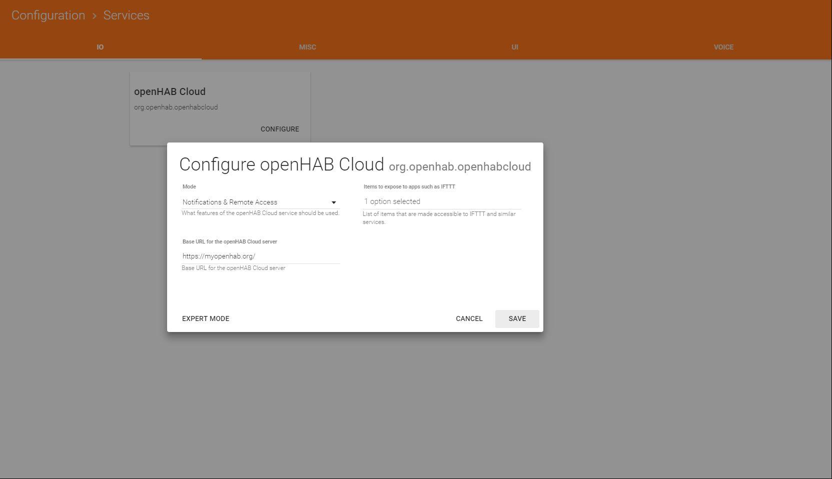MyOpenhab always OFFLINE - openHAB Cloud - openHAB Community
