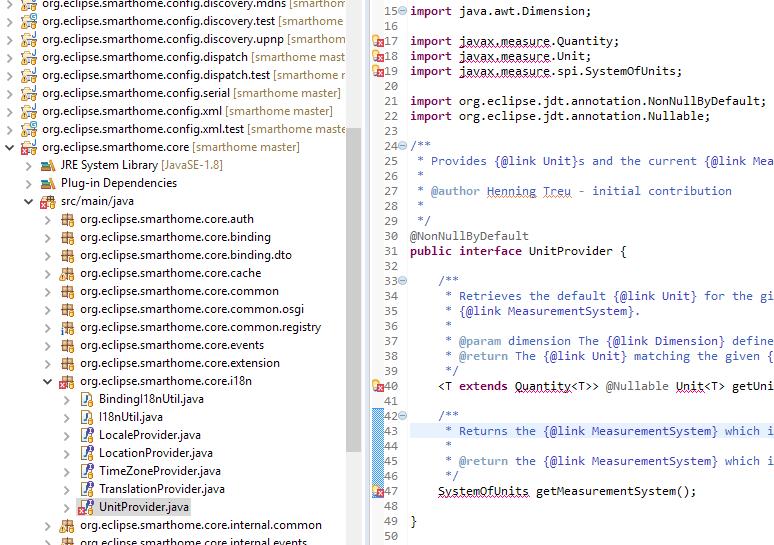 Fresh install Eclipse & Openhab Git, javax measure missing